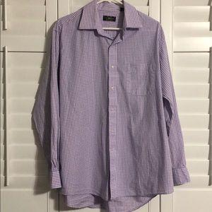 Men's Club Room dress shirt size 16.5 (34/35)
